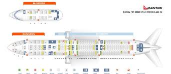747 400 Seating Chart United Airlines Qantas Fleet Boeing 747 400 Details And Pictures
