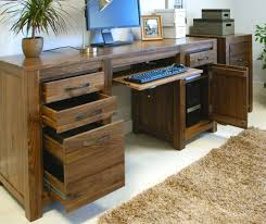 home office wood desk wooden office furniture for the home solid wood oak uk regarding