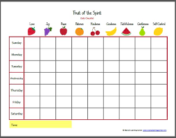 Small Picture fruit of the spirit bingo Google Search Teaching and Learning