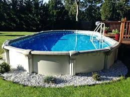 semi inground pool ideas. Semi Inground Pool Ideas Exterior Superb Pools Reviews From Backyard With M