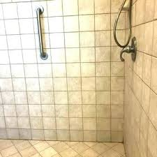 shower floor how to tile stone regrout cost