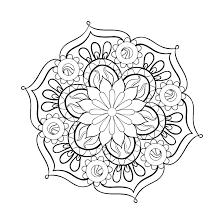 Mandala Coloring Books For Adults Abstract Mandala Coloring Pages