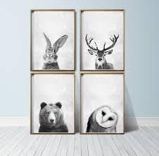 fullsize of nifty nursery room wall nursery wall art animal print art woodland nurserydecor nursery wall