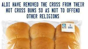 Did ALDI Remove the <b>Cross</b> from Their <b>Hot Cross</b> Buns to Appease ...