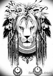 эскиз льва для тату на руку 08032019 006 Tattoo On Hand