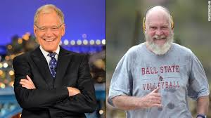 I'm jamie raskin and i approve this message. Bald Santa David Letterman S Striking Retirement Look