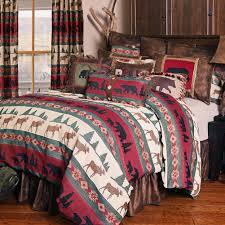 rocky ridge moose bear comforter sets