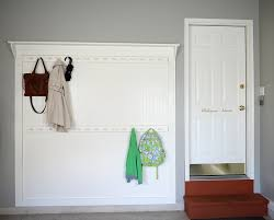 Diy Wall Coat Rack DIY beadboard shaker peg coat rack Living Rich on LessLiving Rich 73