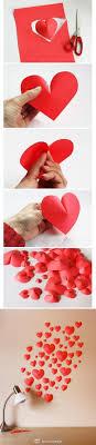 DIY :: Make a 3D Paper Heart For Decoration