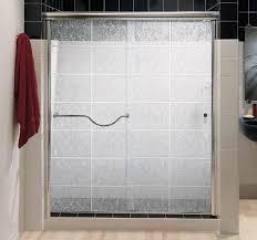 bathroom glass shower doors design
