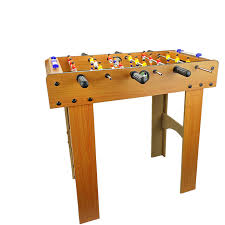 Miniature Wooden Foosball Table Game Kids Fun Floor Standing Wooden Mini Soccer FOOSBALL SOCCER TABLE 29