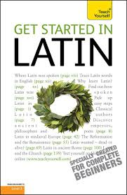 Teach yourself beginners latin