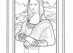 Mona Lisa Worksheet Educationcom