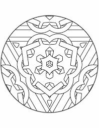 Kleurennu Mandala Ketting Kleurplaten