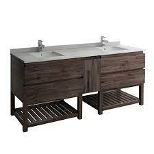 acacia wood bathroom vanity cabinet