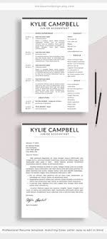 Stand Out Resume Templates Interesting Educator Resume Template For Word And Pages Principal Resume