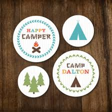 DESCRIPTION  Camping Woodland Animal Forest Nature Tee Pee Girl Camping Themed Baby Shower Invitations
