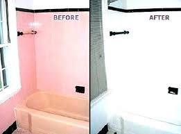white bathtub paint bathroom