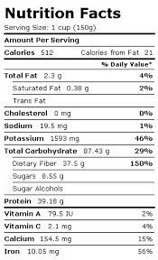 source public domain nutrition facts summary for broad beans see full dels in this article