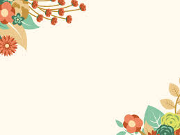 Powerpoint Packgrounds Free Orange Floral Summer Powerpoint Template Is A Other Nice Floral