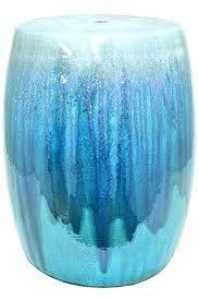 blue garden stool. Navy Blue Garden Stool Fascinating Cobalt Stools .