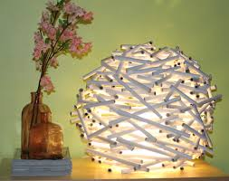 Diy Lampshade Diy How To Make A Birds Nest Lamp Shade Out Of Newspaper Catch