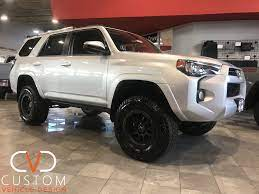 2019 Silver Toyota 4runner With Black Rhino Wheels 2019 Toyota 4runner Toyota4runner Blackrhinowheels Cvdauto Black Rhino Wheels Toyota 4runner 4runner