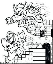 Mario Bros Coloring Pages Beautiful Mario Brothers Coloring Pages