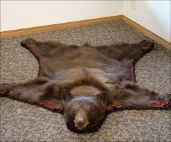 real bear rugs real bear rugs living room fabulous real bear rug black bear rug for