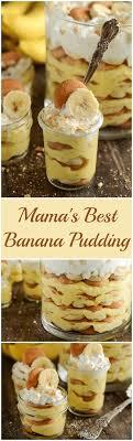 mama s best banana pudding creamy pudding is layered with bites of fresh bananas sweet