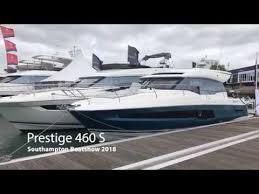 Prestige 460s Southampton Boat Show 2018