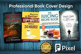i will design a professional book cover
