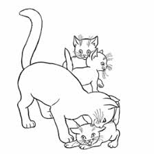 Small Picture Coloring Pages Of Animals And Their Babies Archives Mente Beta