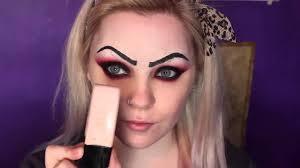 bride of chucky makeup tutorial photo 1