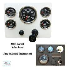 volvo penta panel boat parts custom volvo penta engine panel tachometer w digital hourmeter 7000 rpm