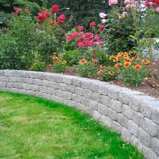 Backyard Retaining Wall Designs Mesmerizing Retaining Walls Mutual Materials