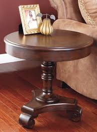 gorgeous lowes sidetable in brown design triangle columns base and fascinating dark brown laminate floor plus ashley furniture brookfield ashley furniture portland maine ashley furniture madison wi as