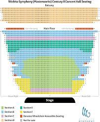 Wichita Theater Seating Chart Seating Charts Pricing Wichita Symphony Orchestra