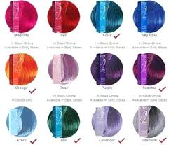 Ion Color Brilliance Semi Permanent Hair Chart Lajoshrich Com