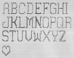 Alphabet Letters On Graph Paper Magdalene Project Org