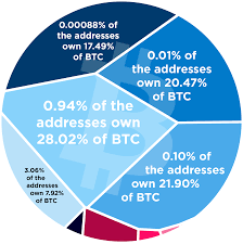 Bitcoin Distribution Chart This Chart Reveals The Centralization Of Bitcoin Wealth