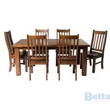 palermo 7 piece dining suite