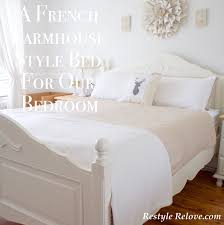 A French Farmhouse Style Bed For Our Bedroom And A Splash Of Christmas
