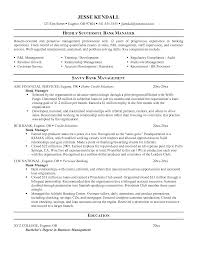 Cover Letter Resume Examples Retail Management Resume Objective