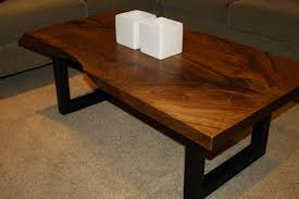 48 most top notch live edge ernut coffee table raw design for wood home dining toronto natural round console occasional slice pine maple one piece