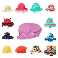 Details About Gymboree Summer Sun Hats Knit 2t 3t 3 4 4t 5t Toddler Ladybug Turtle Blue Girl