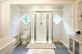 tile with dark grout subway tile bathroom