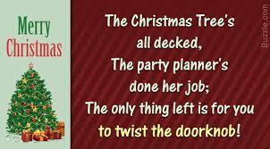 funny invitation wording for christmas