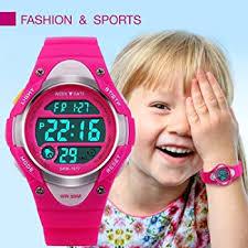 Girls Boys Digital Watch - Kids Sports Waterproof ... - Amazon.com
