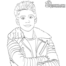 Popular Disney Descendants Coloring Pages Uma From Page Free